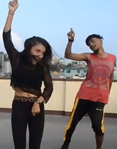 dancing on the roof.JPG