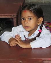 school girl in Rural Nepal