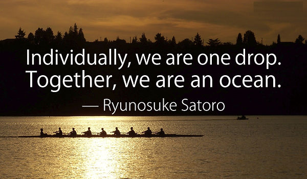 Satora quote on togetherness
