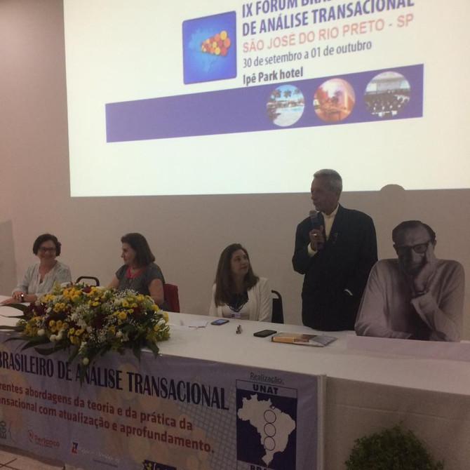 Fórum Brasileiro de Análise Transacional 2016.