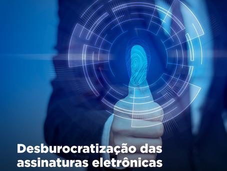 Senado aprova ampliação do uso de assinatura eletrônica em documentos públicos