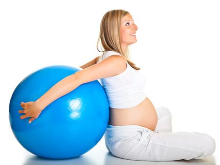 Pilates alivia desconfortos da gravidez