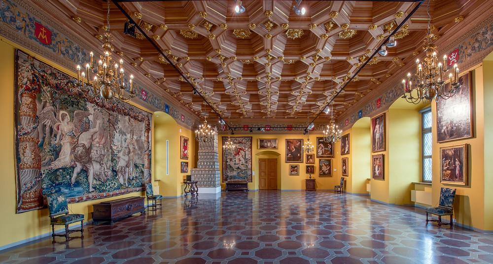 Dr. Prano Kiznio paveikslų galerija Valdovų rūmų muziejuje (Valdovų rūmų muziejaus (Mindaugo Kaminsko) nuotr.)