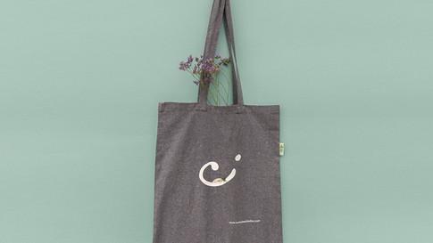 Perdirbtos medvilnės maišelis