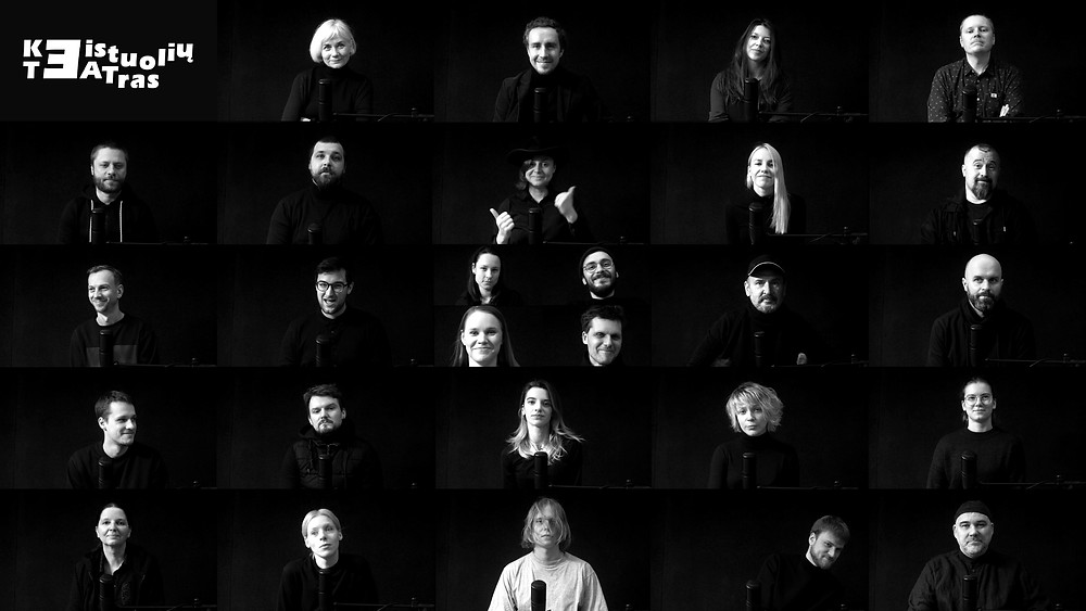 Keistuoliai sveikina su Teatro diena (video stop kadras)