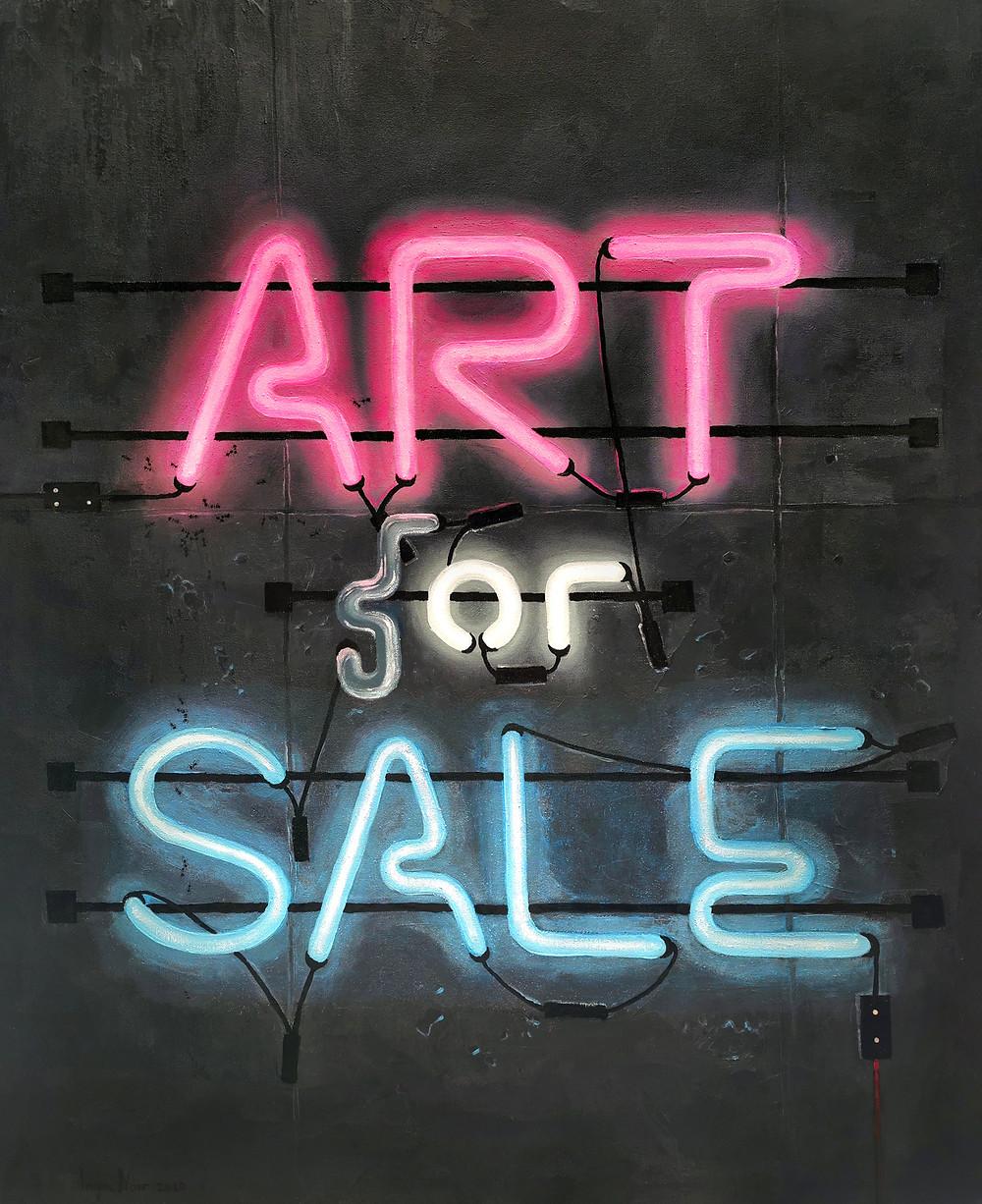 """Inga Noir ,,Art (f)or Sale"""""""
