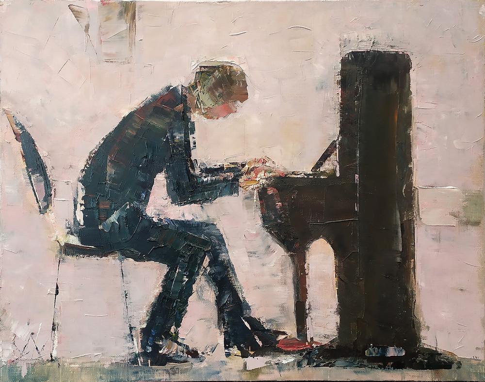 """S. Maslauskaitė-Mažylienė ,,Pianistas"""""""