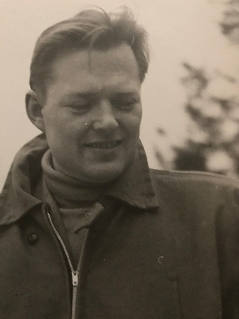 Antanas Mončys - apie 1954 m. AMNM archyvo nuotrauka