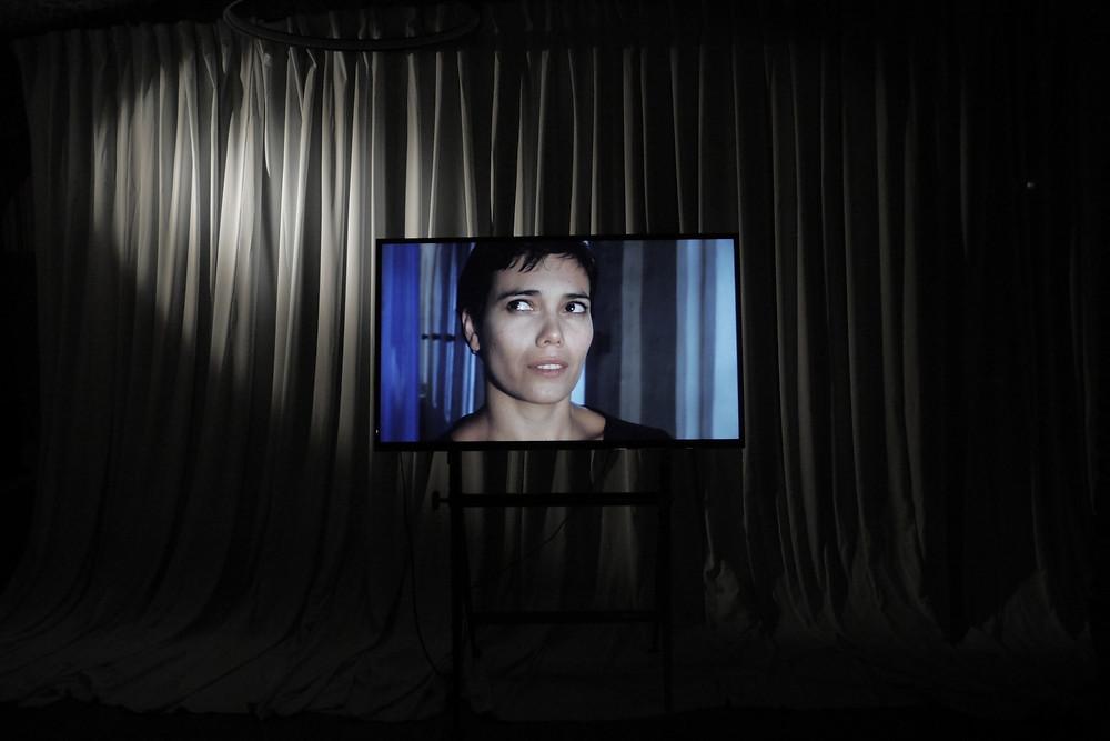 Goda Palekaitė, Biografinis nepaklusnumas, 2020. Vaizdas iš parodos Architecture of Heaven, Centre Tour à Plomb, Briuselis, 2020.