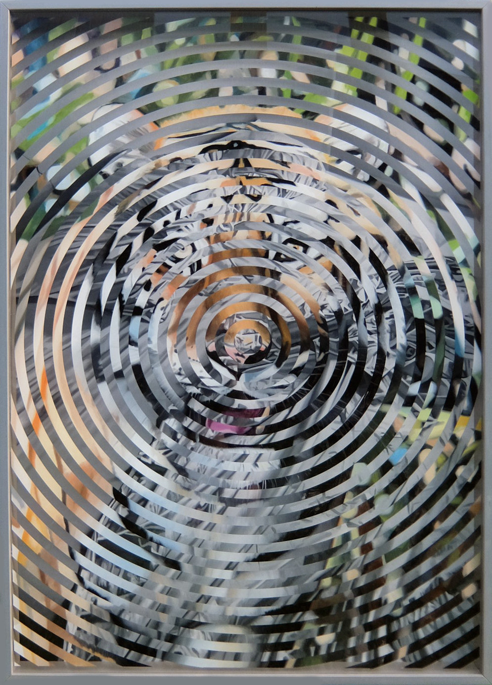 "Maarit Murka  ,,Gyvuliškas instinktas"" (detalė). 2020, aliejus, drobė, mišri technika, 140x110 cm."