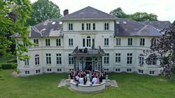 Schloss Berne Drohnenfoto