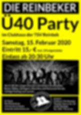 Ü Party Februar 2020 TSV Reinbek