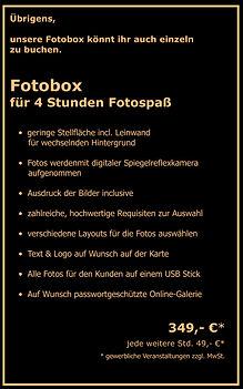 Fotobox Preis