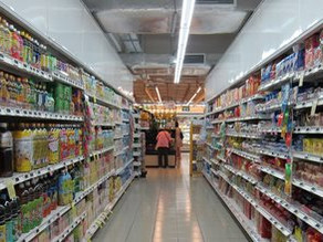 Supermarket layout trial prompts healthier food choices