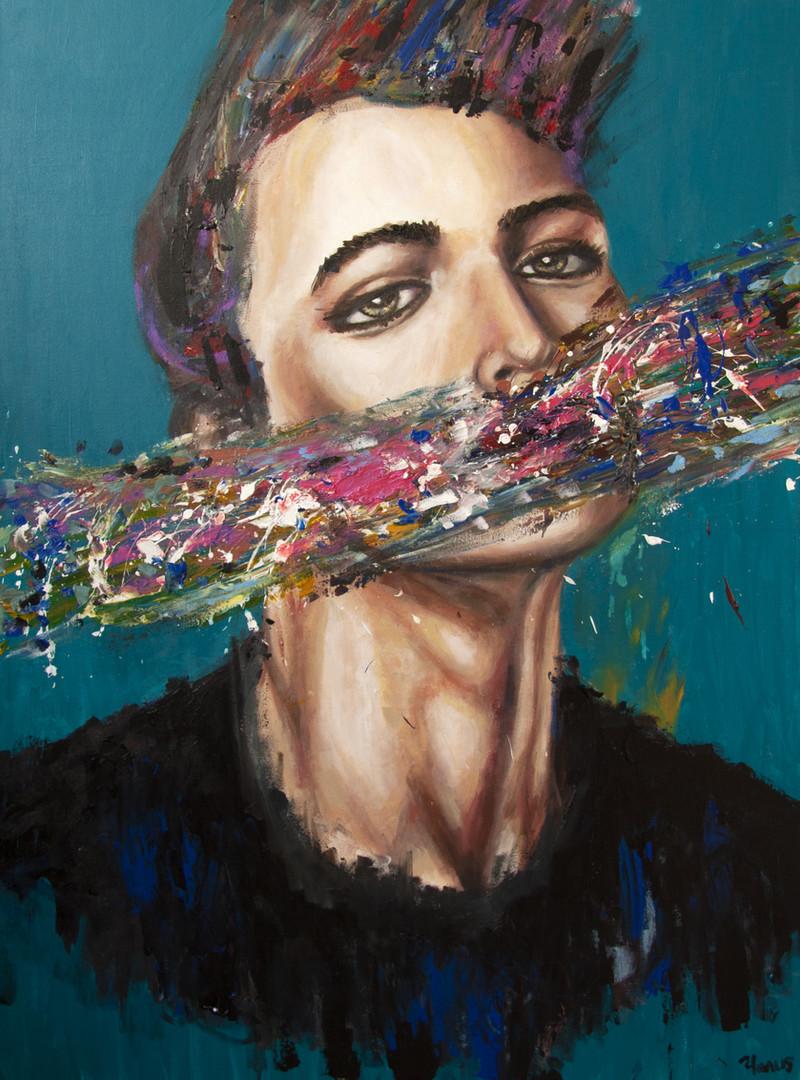 Portrait of the Unspoken One