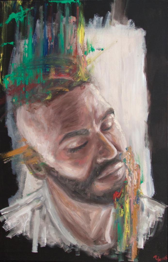 Oil Self Portrait