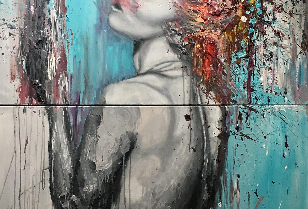 Portrait of a Split Fantasy
