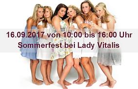 Lady Vitalis Power-Frauen die feiern