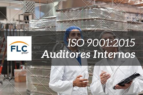 ISO 9001:2015 Formación Auditores Internos