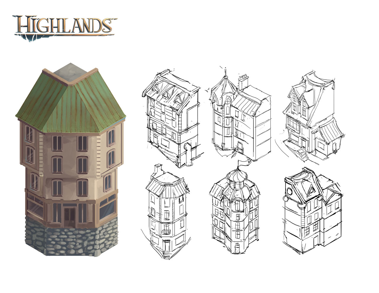 Highlands Game Assets