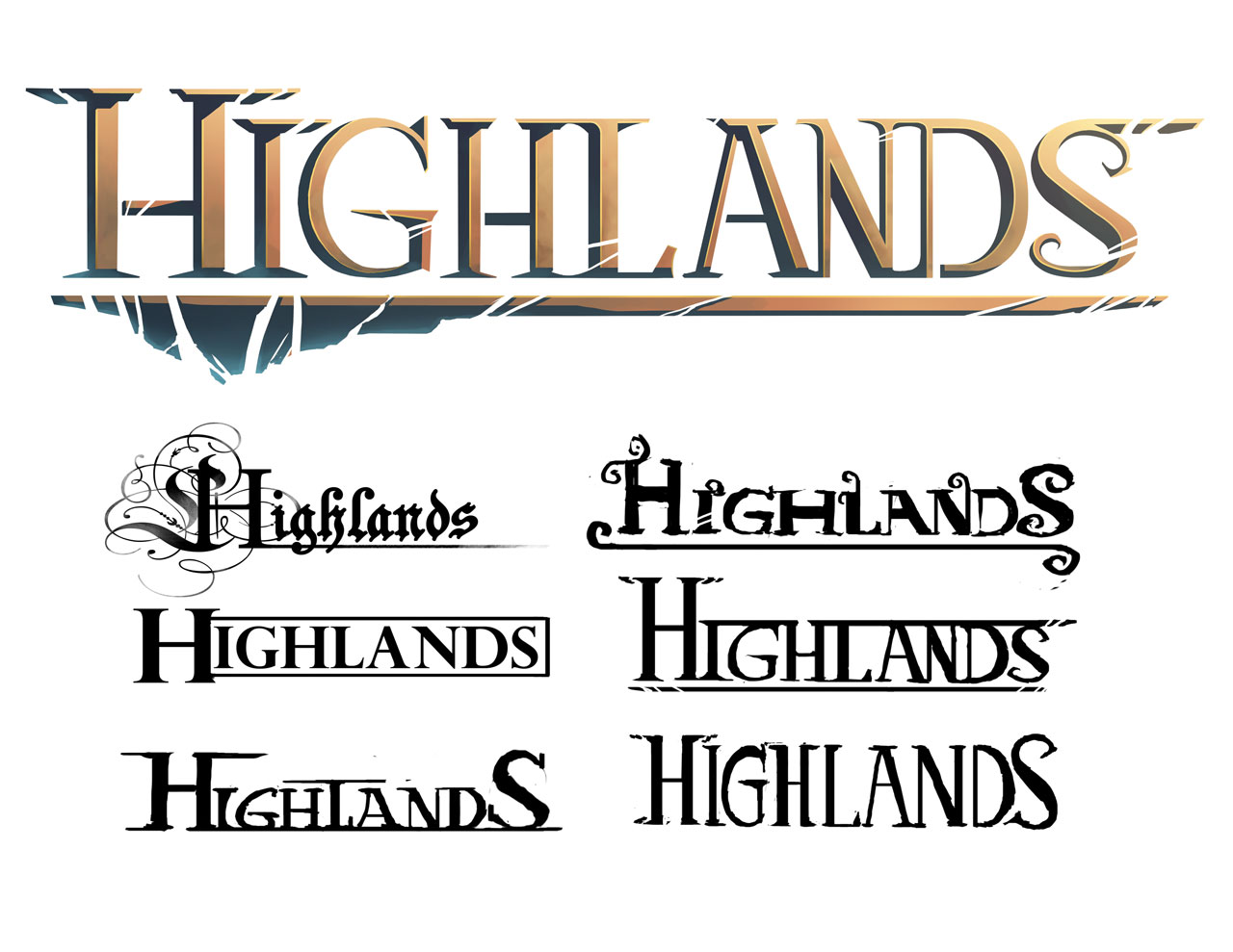 Highlands Logo Design