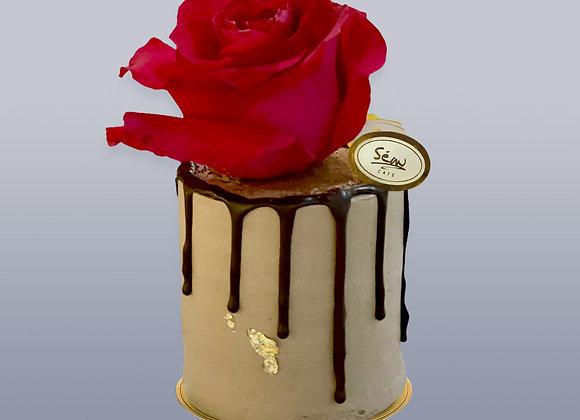 紅玫瑰朱古力蛋糕