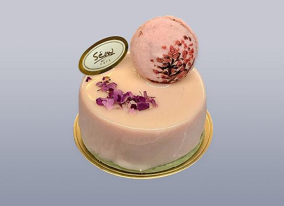 玫瑰馬卡龍慕絲蛋糕