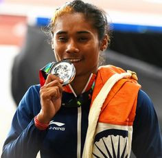 "HIMA DAS -""THE GOLDEN GIRL OF INDIA"""