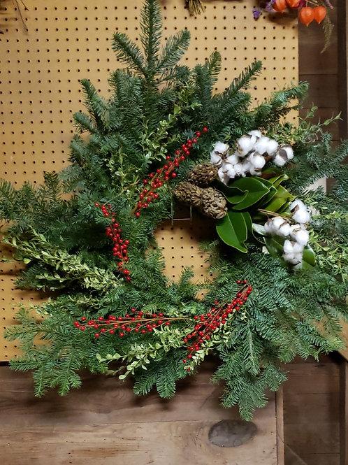 Hudson Garden Club - Holiday Wreath Workshop