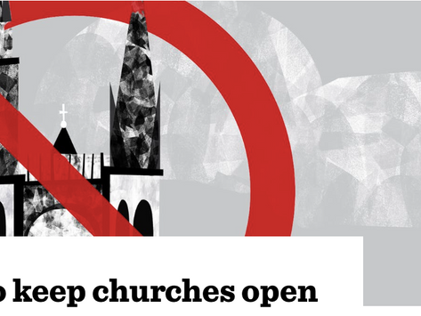 The Critic, 'The battle to keep churches open'