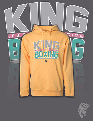 king of boxing /Peach Hoodie