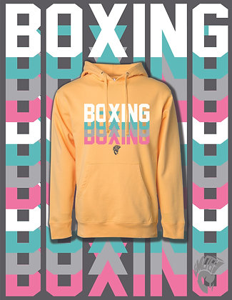 boxing boxing boxing /Peach Hoodie