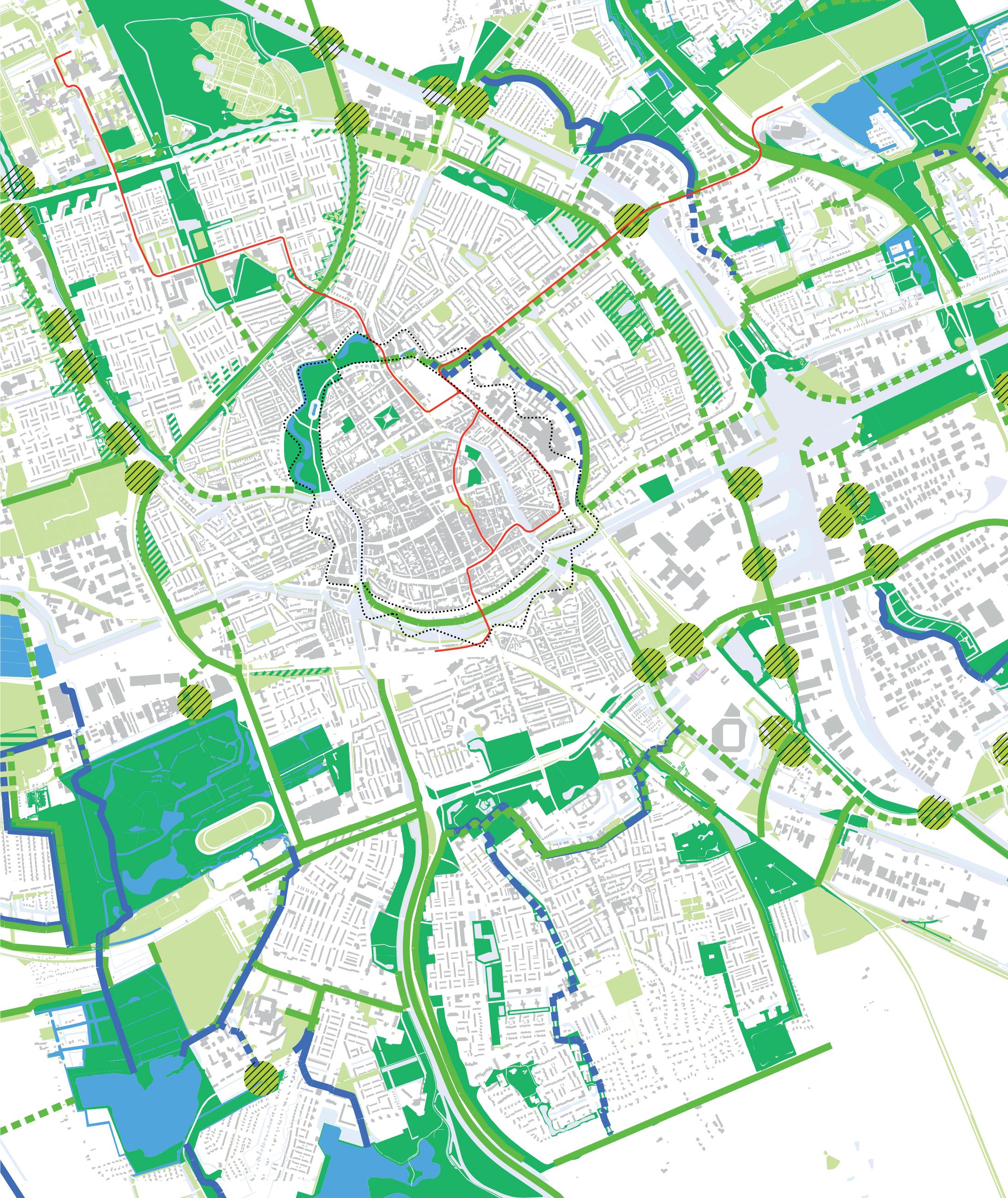 stedelijke ecologische structuur