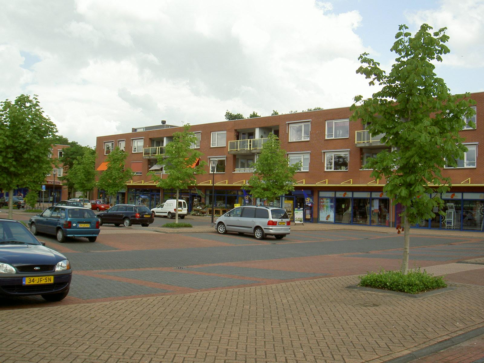 bestaande winkelcentrum: voorkant