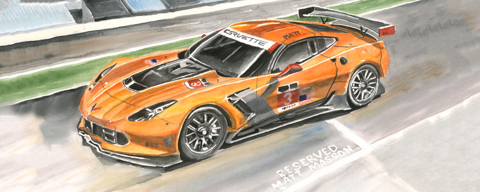 Mathew's Race Car