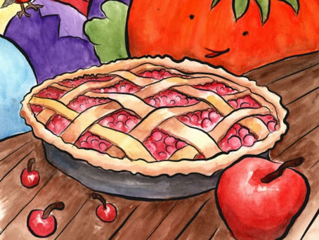 Is everyone ready for Cherry-Apple Pie?