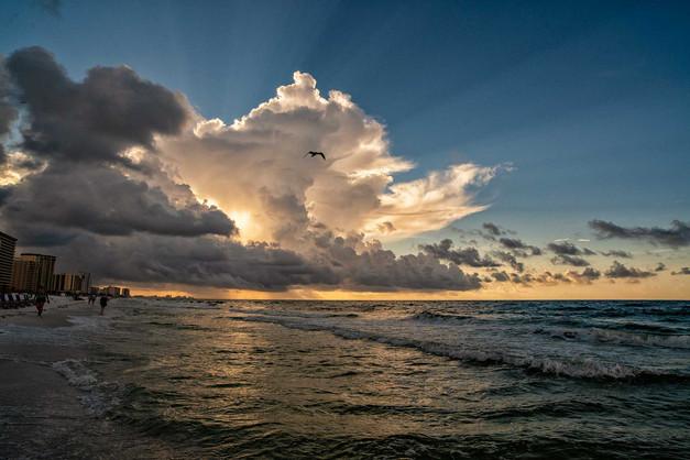 Sunrise in Destin, Florida