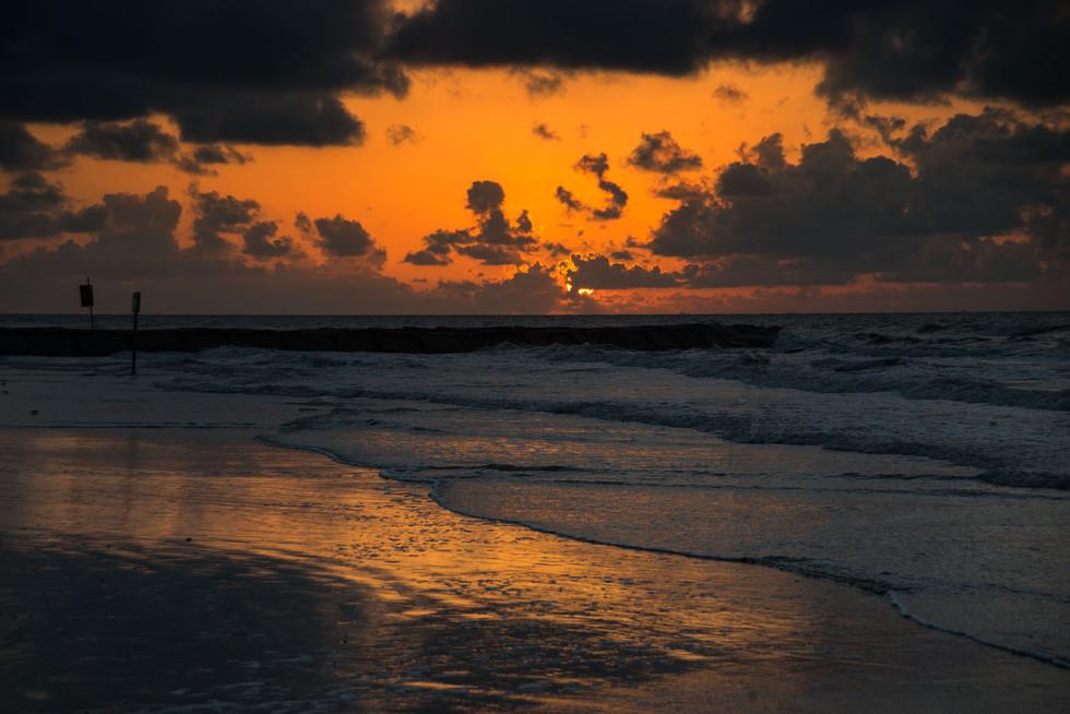 Sunset in Galveston