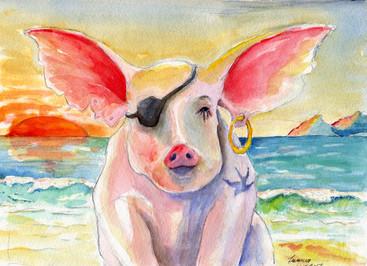 Paul's Pirate Pig