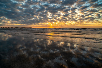 Sunrise on Galveston