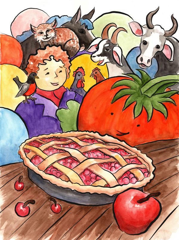 Cherry-apple pie for everyone!