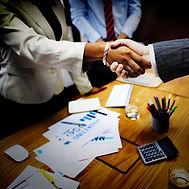Black-White Business Handshake 2000x2000