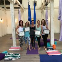 Aerial Yoga TT Graduation