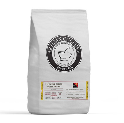 Single Origin - Papua New Guinea  2 x 12.0z bags