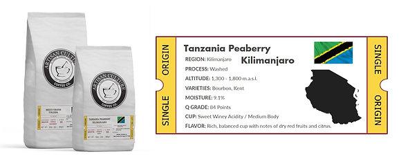 Tanzania 1lb. Bag