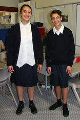 Carey College students in uniform