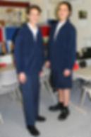 Carey College students in senior uniform