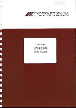 Carey College ERO report