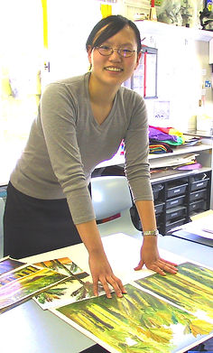 Carey College asian student