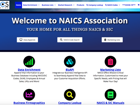 Know your NAICS?